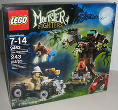 I SOLD IT ON EBAY: I always wanted Halloween themed Lego kits and now, of course, they make them. This Lego Monster Fighters kit is called The Werewolf and it is absolutely perfect for Halloween, don't you think?!? Be sure to repin this post if you'd like to build this Lego set.! #legos #werewolf #monsters