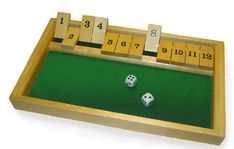 Shut the Box : For students struggling with fluency with smaller numbers Reception Games, Road Trip Games, Early Math, Old Games, Math Facts, A Classroom, Arithmetic, Math Skills, Best Games