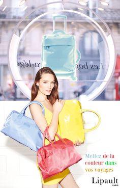 Mettez de la couleur dans vos voyages, la marque Lipault, fête ses 10 ans cette année, Bon anniversaire …. Paris, Gym Bag, Style, Baby Born, Travel, Color, Montmartre Paris, Paris France