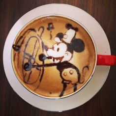 Start  your day with Mickey