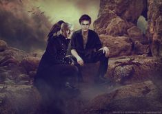 Stalker by *chouette-e on deviantART (Harry Potter / Draco Malfoy, Drarry, Daniel Radcliffe, Tom Felton, Harry Potter Fanart)