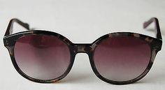 womens black grey HUGO BOSS oval sunglasses glasses BO 0175/S size 53-20-135