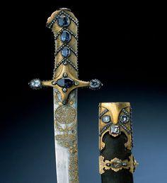 Ottoman Sword (16th Century CE Weapon)