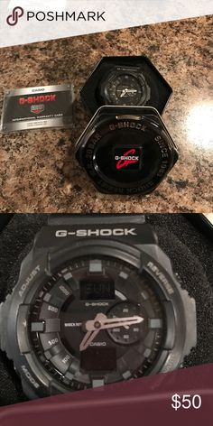G Shock watch The most durable watch you will ever own. Water proof and perfect for doing any activity. G Shock Accessories Watches