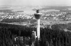 Scandinavia's First Revolving Tower Restaurant Map Pictures, Seattle Skyline, Finland, Maps, History, City, Places, Travel, Historia