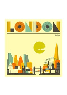 London, England by Jazzberry Blue - East End Prints