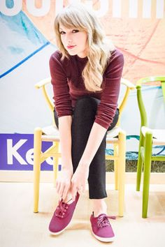 Taylor Swift Talks Social Media, Style, and Her Latest Collection for Keds