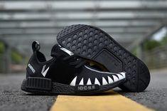 low priced fd799 5771a Adidas NMD 2017 R1 Unisex  black shark shoes Whatsapp 8613328373859