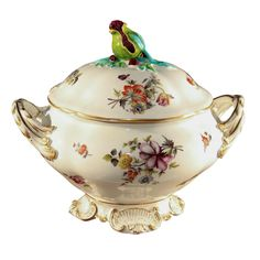 1stdibs - French Botanical Soup Tureen explore items from 1,700  global dealers at 1stdibs.com
