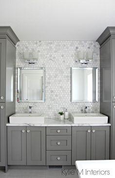 Beautiful bathroom backsplash