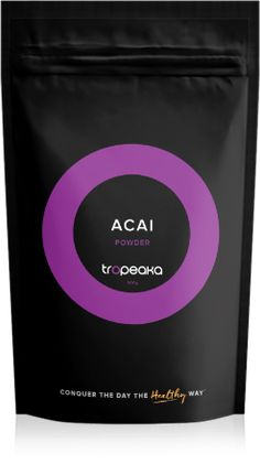 Acai Berry Powder 1. A Super-Berry found in the Amazon rainforest. 2. Low GI weight management product. 3. Helps fight sugar cravings. 4. An energy boosting