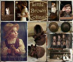 ''  Little Brown Cottage '' by Reyhan Seran Dursun