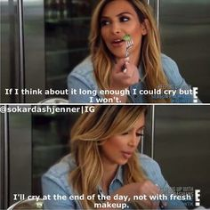 Kim Kardashian lol