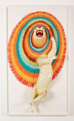 AJ Fosik wooden sculptures