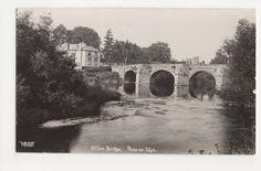 Wilton Bridge Ross on Wye Real Photo Postcard, Walker 2305