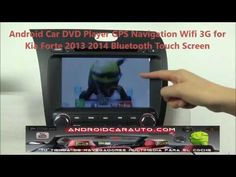 Kia Forte 2013 2014 Android DVD GPS Navegador Radio  Wifi bluetooth