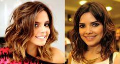 cortes de cabelo curtos para afinar o rosto para cabelos ondulados