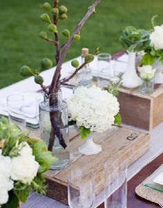 Finguer food table decor ideias servir 15