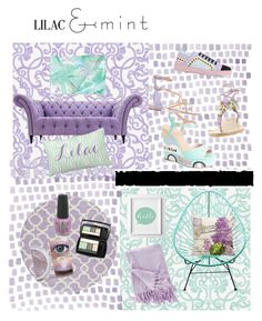 """""""Lila and Mint Contest"""" by stonge-02 on Polyvore featuring art"""