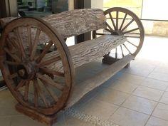 wagon wheel outside bench ideas | 1000x1000.jpg