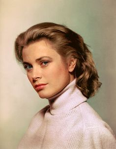 """foxybelka: """"Grace Kelly """" This is pretty impressive. Did you colorize this @foxybelka?"""