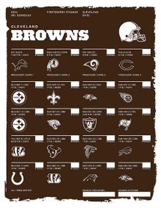 Cleveland Browns 2014 NFL Schedule