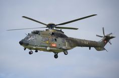 Swiss Search and Rescue Super Puma, at Air14, Payerne, Switzerland, August 2014.