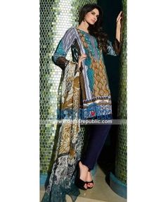 HSY Lawn Collection 2015 Pakistani Designer Suits Online