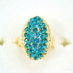 Free shipping and no min order! 2014 New Arrival Fashion Rhinestone Rings With Gold Plated For Women Cheap Sale $2.77
