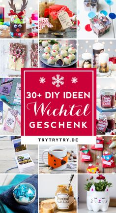 Wichteln / Julklapp / Wichtelgeschenk / For the Advent calendar or to elves: here are great gift ideas under 5 € / gift ideas for men or the partner, gifts for mom, craft ideas for personalized gifts, ingenious craft ideas for DIY gifts for Christmas Diy Gifts For Christmas, Cumpleaños Diy, Diy Cadeau Noel, Natal Diy, Diy Advent Calendar, Navidad Diy, 242, Diy Presents, Diy Weihnachten