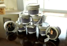 Justin Bieber cupcakes in a jar!  They made a great party favor :)