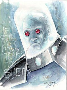 Mr Freeze by Matt Slay