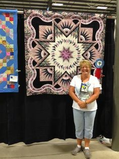 Glacier Star designed by Quiltworx.com, made by Laura Nolletti.