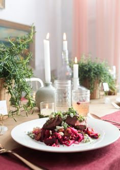 Chic (and affordable) Winter Rustic Tablescape