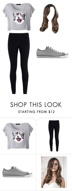 """cat"" by j-o-h-n-a-t-h-a-n ❤ liked on Polyvore featuring NIKE and Converse"