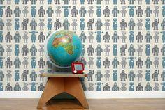 ZOMG robot wallpaper Aimee Wilder