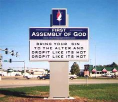 Haha I love church signs!!