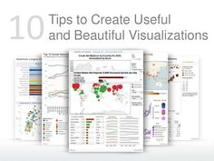 ten-tips-to-create-useful-and-beautiful-visualizations by Tableau Software via Slideshare