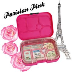 Parisian Pink Yumbox by yumboxlunch on Polyvore featuring interior, interiors, interior design, home, home decor, interior decorating and Merci Gustave!