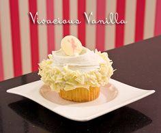 Casey's Cupcakes Vivacious Vanilla. #caseyscupcakes #vanilla www.caseyscupcake.com