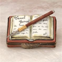 Limoges Travel Diary Journal Box The Cottage Shop