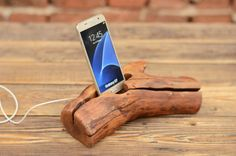 Wood+iPhone+6+Plus+dock,+Men+Gift,+Mobile+Phone+accessories,+iPhone+Docking+station,+Christmas+gift,+Wood+iPhone+stand,+Samsung+wood+stand