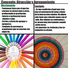 Tema: Concepto de (atracción y agrupamiento).