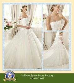 2013 Glamour Long Seleeve Covered Wedding Dress Brial Gown