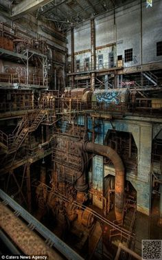 42. #Rusting Steelworks - 54 #Still Beautiful #Abandoned Buildings around the…