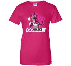 Overwatch D.Va GG Spray Tee Shirt t-shirt