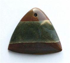 Succor Creek Jasper Pendant Stone by StoneCollector on Etsy, $12.99