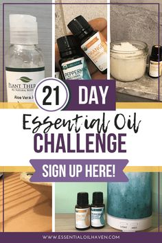 Get OFF with code HALFOFF The 21 day challenge is an EASY way for you to get started with essential oils.I wanted to create this challenge so that YOU could get an idea of how wonderful essential oils can be in your day to day life. Essential Oils For Colds, Essential Oils Guide, Essential Oil Diffuser Blends, Essential Oil Uses, All You Need Is, 21 Day Challenge, Organic Plants, Aromatherapy Oils, Oils For Skin