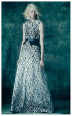 NEW BCBG Off White Combo CHLOEY Sleeveless Printed Gown 8 $368 FYL69B46  #BCBGMaxAzria #Cocktail