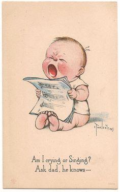 Vintage Charles Twelvetrees Art Postcard - 804. $8.99, via Etsy.